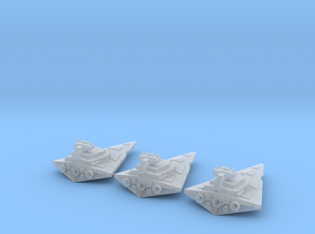 Tiny Space Destroyers (17mm)