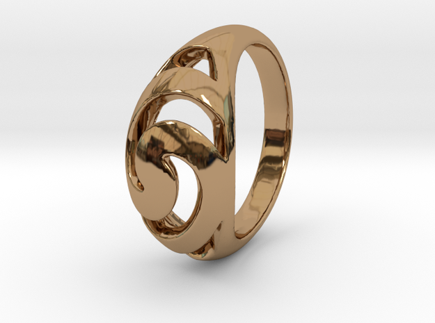 spiral eye size 7 3d printed
