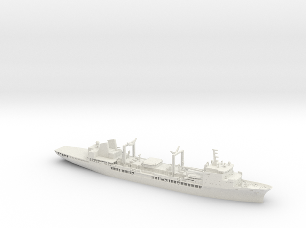 HMAS Success (II) in White Natural Versatile Plastic: 1:350
