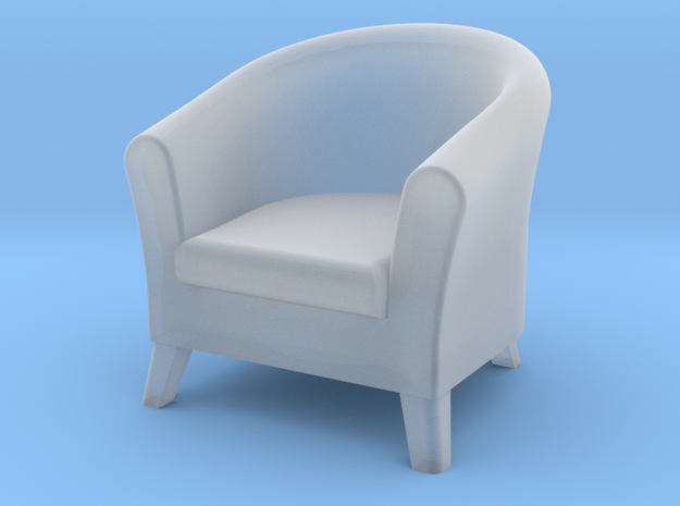 1:48 Club Chair in Smooth Fine Detail Plastic