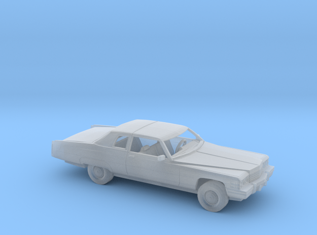 1/160 1974 Cadillac DeVille Coupe Kit in Smooth Fine Detail Plastic