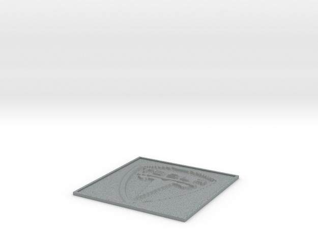 Tesla Motors lithophane 3d printed