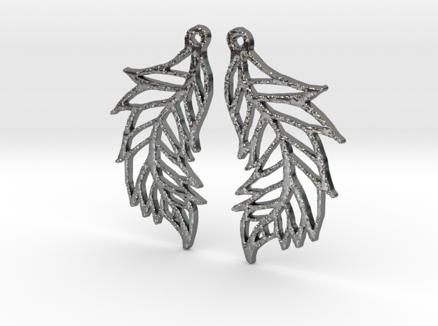 :Featherflight: Earrings 3d printed