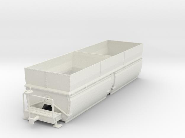 c-55-camargue-bogie-salt-wagon in White Natural Versatile Plastic