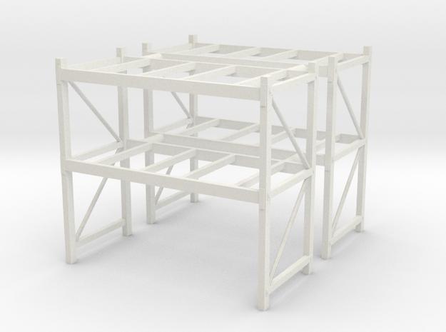 1/64th Shop or Warehouse pallet rack shelving (2)