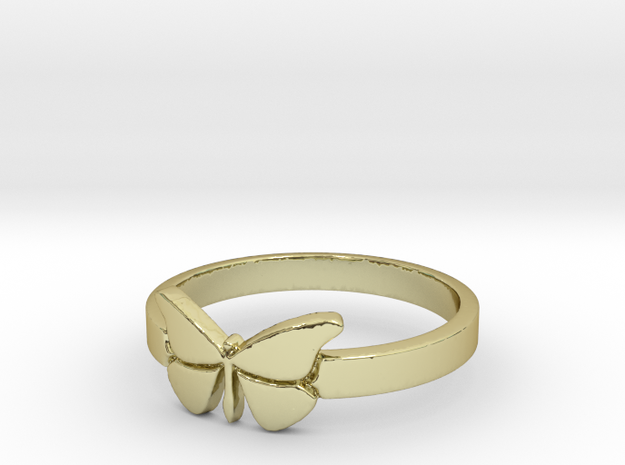 Butterfly (small) Ring Size 8 in 18k Gold