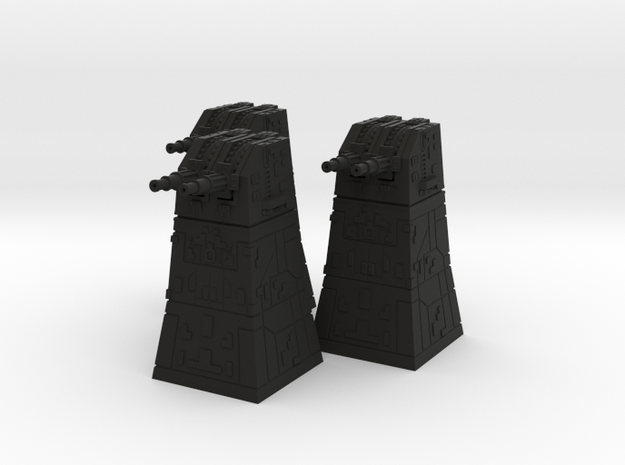 Turbolaser Turret 1/270 3 pack 3d printed