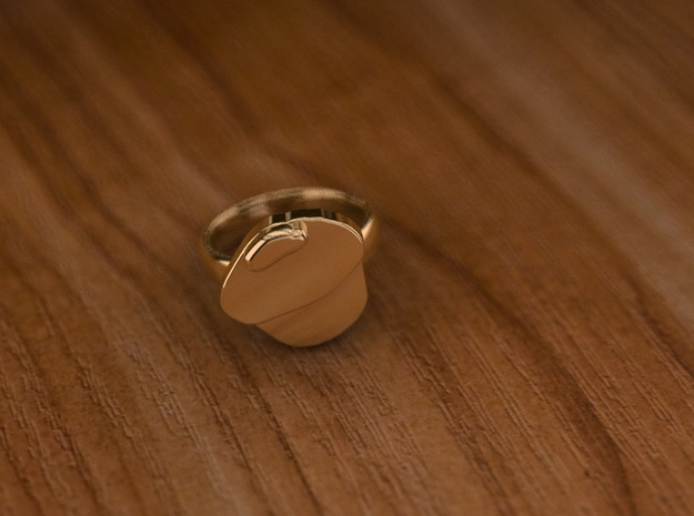 Pikabu Classical Ring 14k gold 6.5size in 14K Yellow Gold