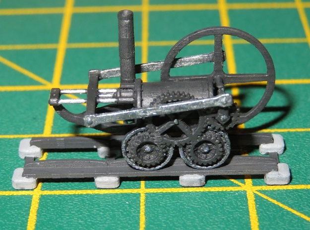 N Gauge Coalbrookdale Engine (Static) in Smoothest Fine Detail Plastic