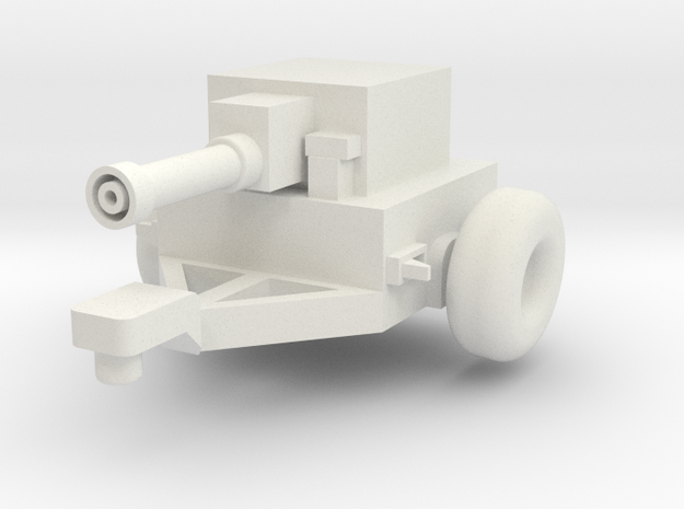 1/64 Tractor dyno in White Natural Versatile Plastic