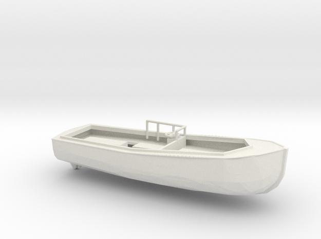1/96 Scale 40 ft Utility Boat USN in White Natural Versatile Plastic