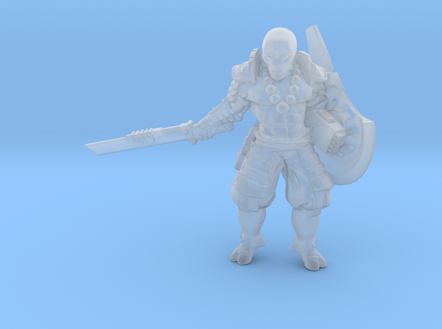 Greater Good Shield Master2.0 in Smooth Fine Detail Plastic: 28mm
