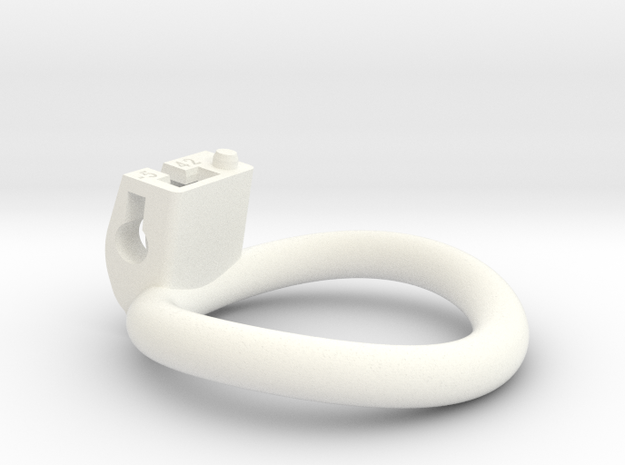Cherry Keeper Ring - 42mm -5° in White Processed Versatile Plastic