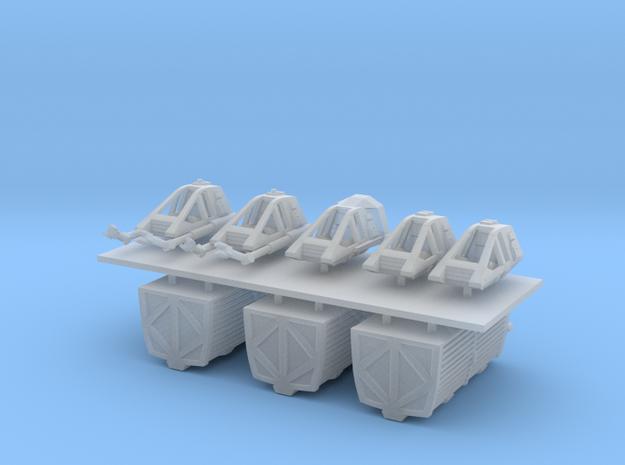 1/350 TMP Workbee Variety Pack in Smooth Fine Detail Plastic