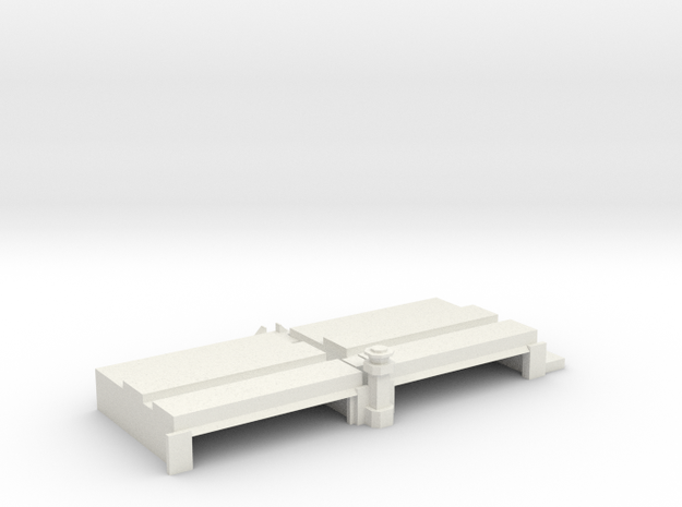 Passenger Terminal at Wright-Patterson Air Force B in White Natural Versatile Plastic