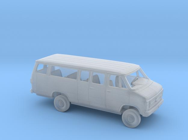 1/160 1984 Chevrolet G Van Long Extended Kit in Smooth Fine Detail Plastic