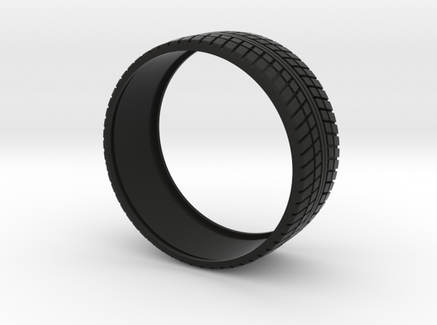 Tire For  Mini Vossen 45mm in Black Natural Versatile Plastic