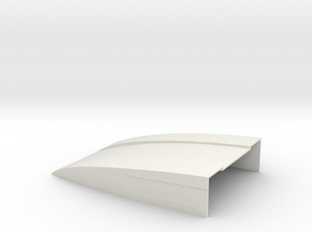 100x70x20 Deflektor for Bruder Sprinter BF3 Specia in White Natural Versatile Plastic