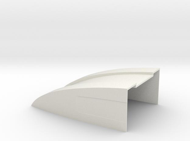 100x70x35 Deflektor for Bruder Sprinter BF3 in White Natural Versatile Plastic