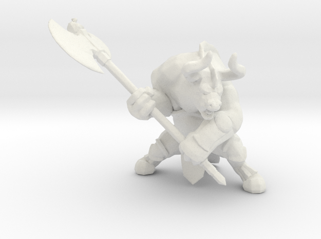Minotaur with Axe DnD miniature games rpg dungeons