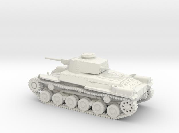 1/87 IJA Type 97 Shinhoto Chi-Ha Medium Tank in White Natural Versatile Plastic