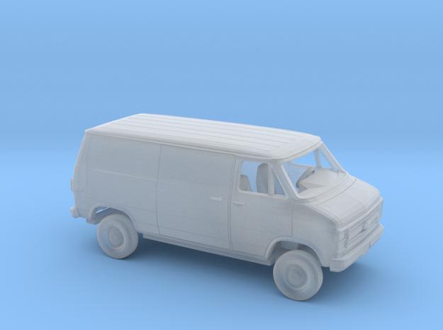 1/87 1984 Chevy G Van Sliding Side Split Rear in Smooth Fine Detail Plastic