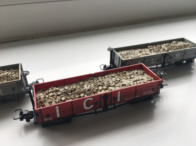 009 Wagon Load in Smooth Fine Detail Plastic