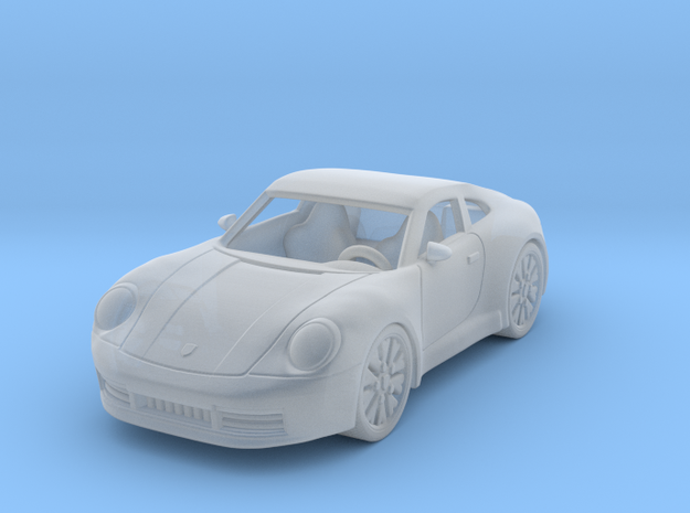 Porsche 911 Carrera S 2020 1:87 HO in Smooth Fine Detail Plastic