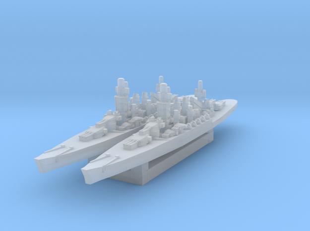Andrea Doria battleship (A&A Classic) in Smooth Fine Detail Plastic