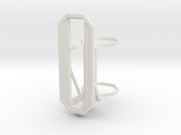 RhB Main signal frame - 4 aspects in White Natural Versatile Plastic