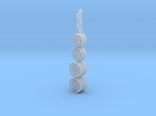 "Beta Monte Carlo FOTL Ronal 16""+19"" Wheels in Smoothest Fine Detail Plastic"
