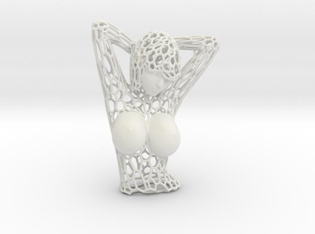 Female Bust Voronoi