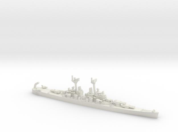 US Baltimore-Class Cruiser w/ Regulus Missile (V2) in White Natural Versatile Plastic: 1:1800