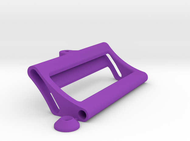 Alcista Body Mount in Purple Processed Versatile Plastic