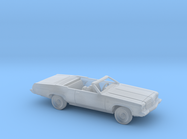 1/87 1973 Oldsmobile Delta 88 Convertible Kit in Smooth Fine Detail Plastic