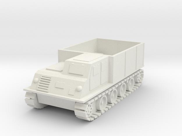Japanese WW2 Typ 1 Ho-Ki - Armored Personnel Carri in White Natural Versatile Plastic