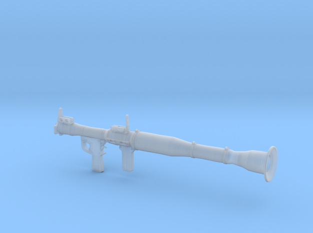 1:16th scale RPG launcher in Smoothest Fine Detail Plastic