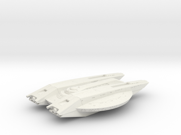 Magee Class 7.2cm long in White Natural Versatile Plastic