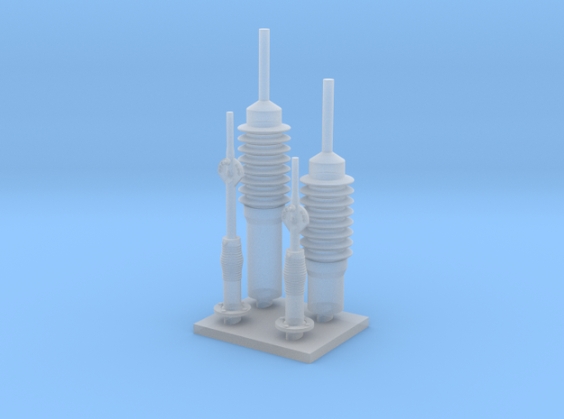 Harris Antenna Mount, 1/35 scale in Smooth Fine Detail Plastic