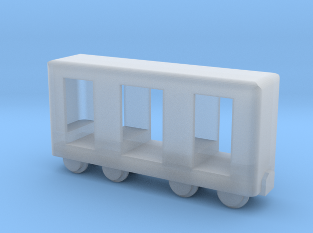 Grubenbahn Perseonenwagen V2 - Nf 1:160 in Smooth Fine Detail Plastic