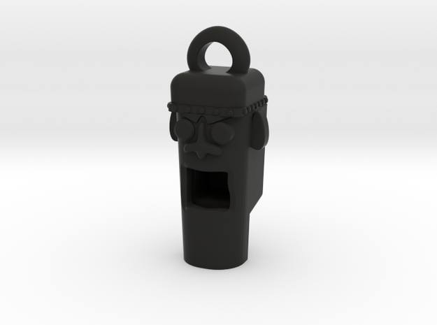Mayan Head Whistle 3d printed