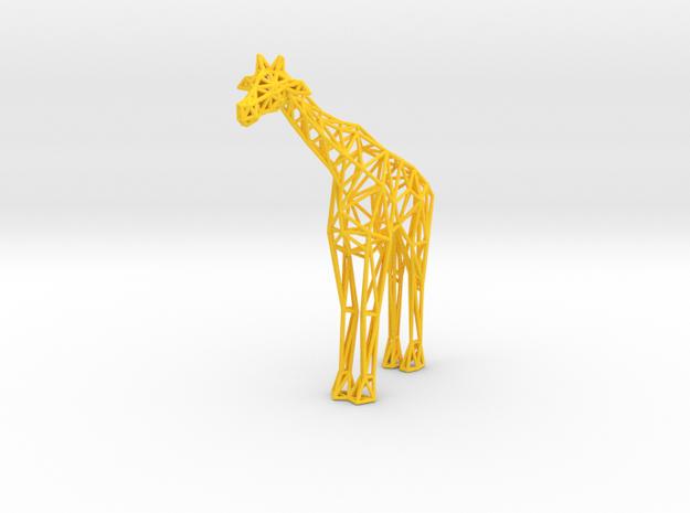 Digital Safari- Giraffe (Small) 3d printed