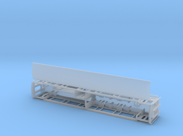 WHR Winson engineering 3rd/brake coach NO.2090 in Smooth Fine Detail Plastic