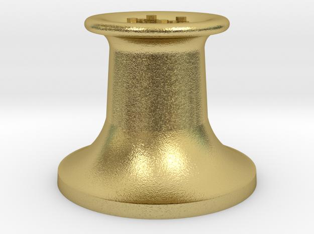 4DPGW004 GWR Belpaire Safety Valve (Dean Goods) in Natural Brass