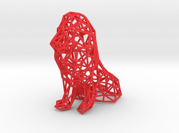 Digital Safari- Lion (Small) 3d printed