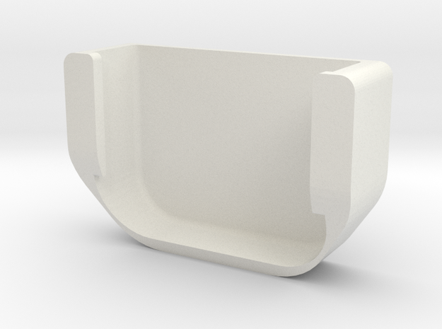 Fuel Cap Hook for Older Toyotas in White Natural Versatile Plastic