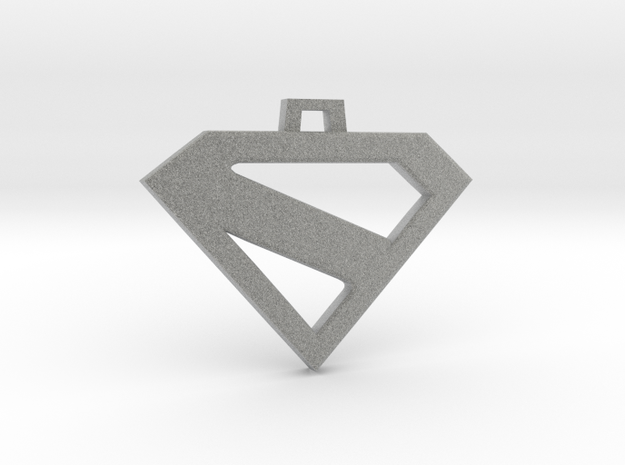 Superman Kingdom Come keychain/pendant 3d printed