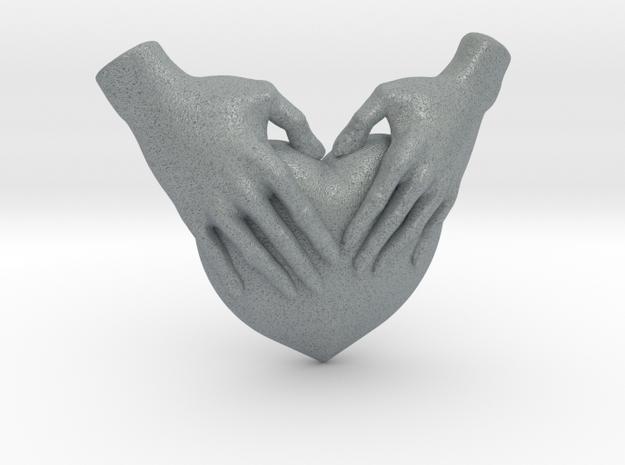EmeDeÚ Necklace 3d printed Polished Metallic Plastic