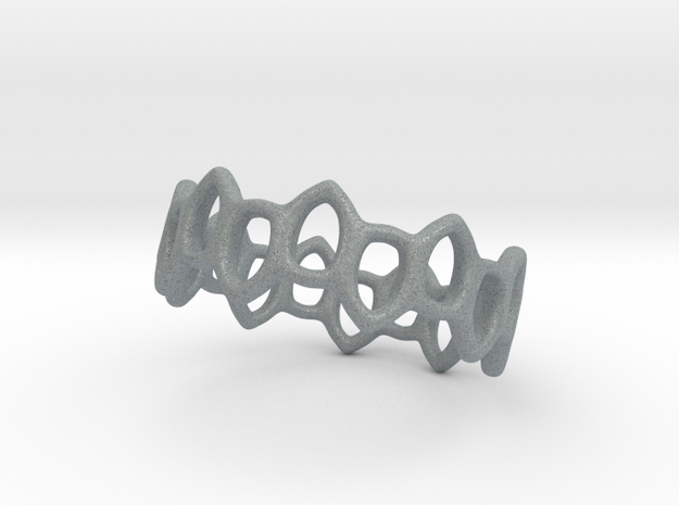 Offset Links ring 3d printed
