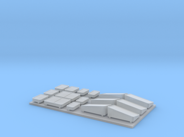1:160 SU46/ST46 windows in Smooth Fine Detail Plastic